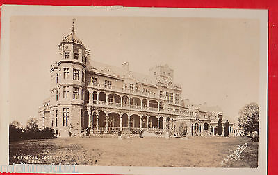 India, Simla, Viceregal lodge. Postcard..