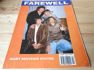 TAKE THAT   used   POSTER FAREWELL GIANT SOUVENIR POSTER small splits on corners