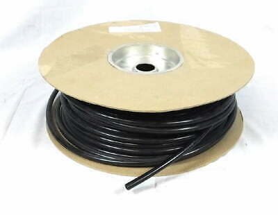 "Low Pressure Nylon Pond Tubing Hose 3/8"" OD Black 250' Foot Length Spool Roll"