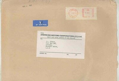 1973 American Motors England ORIGINAL EMPTY Factory Mailing Envelope ww0481