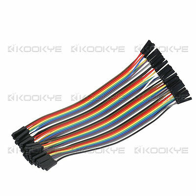 20*40pin  Dupont Wire Breadboard Jumper Cable  Female to Female for Arduino 10CM