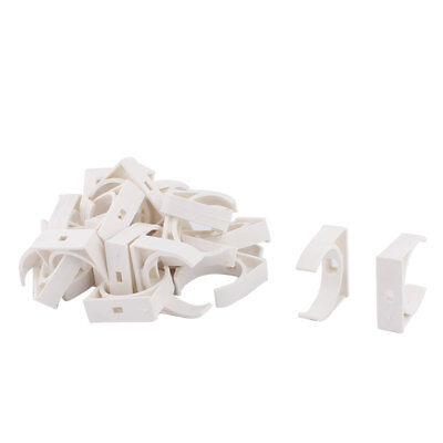 Water Tube Hose Pipe Multifunctional Fittings Parts Clamps Clips 40mm Dia 25pcs