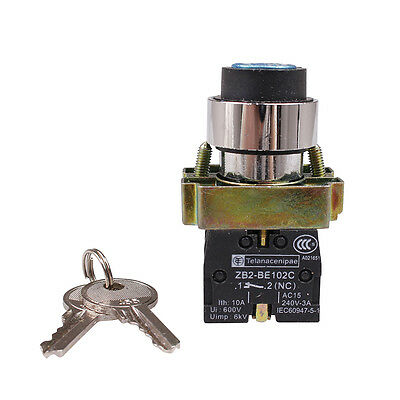 1 NO 1 NC key 2 Position Selector Switch Maintained XB2