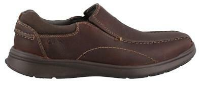 Clarks Cotrell Step  On Shoe Leather Mens Casual Shoes