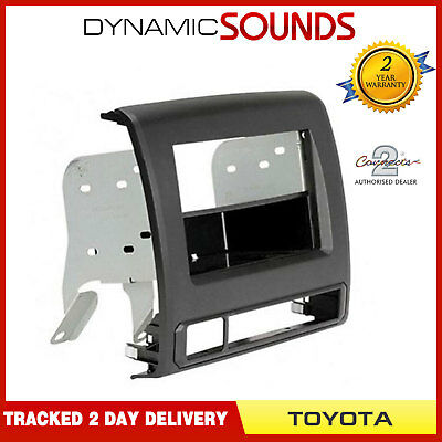 CT24TY46 Single / Double Din Stereo Fascia Panel Adaptor For Toyota Tacoma 2012>
