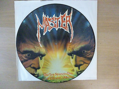 Master – On The Seventh Day God Created...Master, Picture LP, Vinyl: g+