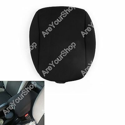 Neoprene Center Console Armrest Pad Cover for Jeep Wrangler JK & Unlimited 11-16