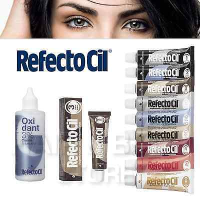 REFECTOCIL TINTURA COLORANTE per CIGLIA E SOPRACCIGLIA 15ml + OSSIGENO 10 Volumi