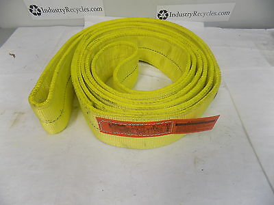 "Lift-All Polyester Web Sling 2 Ply 10 Ft x 4"" 41400Lb Basket Capacity EN2804DX10"