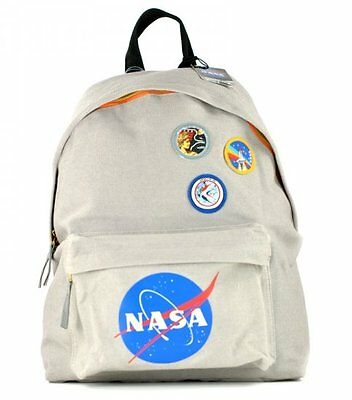 NASA BADGES RUCKSACK Astronaut School GYM Shoulder Bag BACKPACK