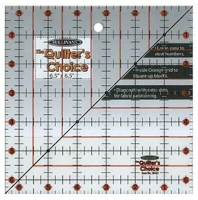 """Quilting Ruler 6.5"""" x 6.5"""""""