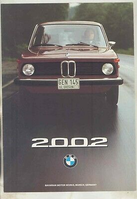 1975 BMW 2002 US Brochure ww1001