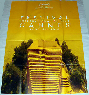 FESTiVAL DE CANNES 2016 Le mépris Jean-Luc Godard Contempt LARGE French POSTER