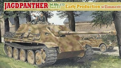 DRAGON 6494 1/35 Jagdpanther Ausf.G1 Early Production w/Zimmerit