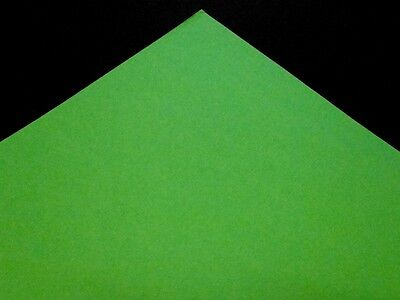 A4 Bright Green Colour Coloured Paper 80gsm Printer Copier Ream Sheet 210x297mm