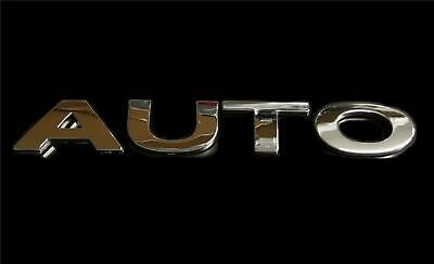 AUTO Chrome 3D Self-adhesive Letter Car Badge Emblem Sticker for Home & Auto