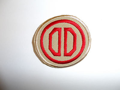 b8833 US Army 1930's-WW 2 31st Infantry Division patch Khaki Dixie PA14