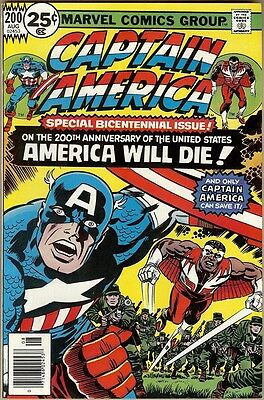Captain America #200 - VF-