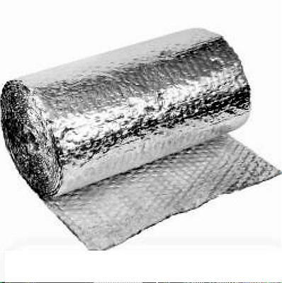 New  Double Sided Foil Air Bubble Cell Insulation 1.5  Sq M Free Shipping