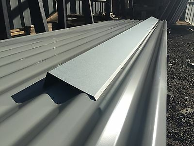BARGE CAPPING Zinc 3000mm 3m NEW SUITS CORRUGATED ROOFING C2