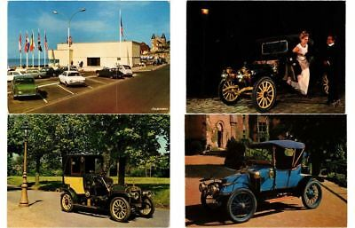 CARS AUTOMOBILES 500 postcards Mostly 1950-1980 period