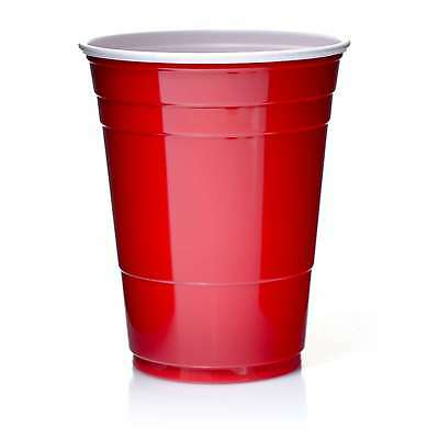 Solo Cups 16oz Rote Becher 473 ml Red Cup Original USA 100 Trinkbecher