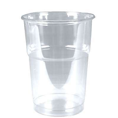 Clear Cups Trinkbecher PET 0,25l glasklar Plastikbecher 50 Becher 250ml