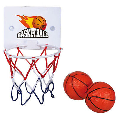 3Pc Bath Tub Basketball Set Fun Time Gift Novelty Kids Game Hoop Ball Toy New
