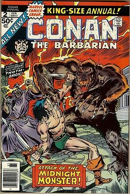 Conan The Barbarian Annual #2 - FN+