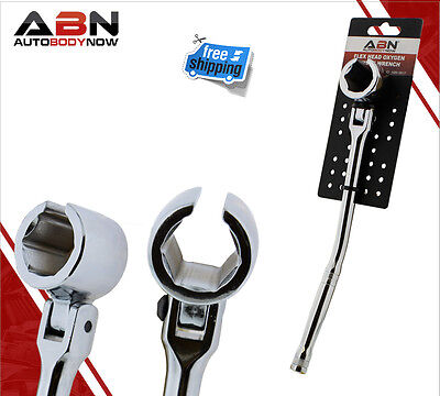 "ABN 7/8"" 22mm Flexible Head Oxygen Sensor Head Wrench"