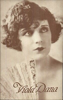 Actress Viola Dana c1920 Postcard
