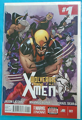 4 Wolverine and the X-Men comic issues 1, 2, 3 & 4 (2014 Marvel Now!) by Latour