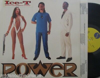 ICE T - Power ~ VINYL LP