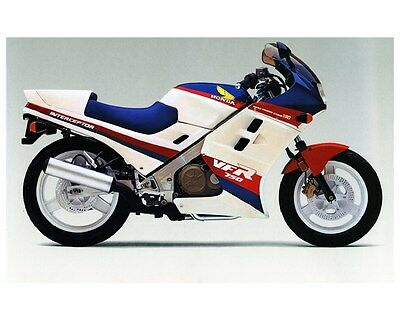 1986 Honda Interceptor VFR 750 Motorcycle Factory Photo ca5519