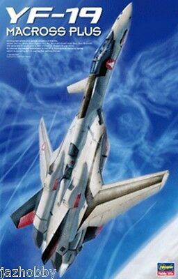 Hasegawa 65651 MC01 1/48 Scale Fighter Model Kit Macross Plus YF-19