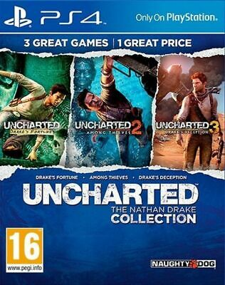 Uncharted: The Nathan Drake Collection - PS4 - NEU OVP