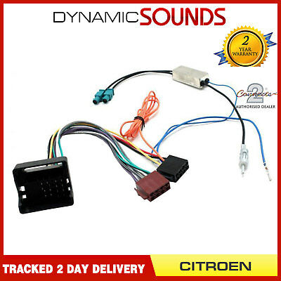 ct20ct02 wiring harness for citroen c2 c3 c4 c5 c6 c8 ... citroen wiring harness