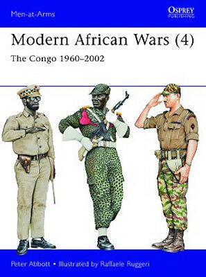 Osprey Men at arms 492: Modern African Wars (4) The Congo 1960-2002 / NEU