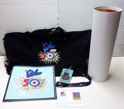 The Who Hits 50 North American Tour 2015-16/book/duffel/poster/lanyard