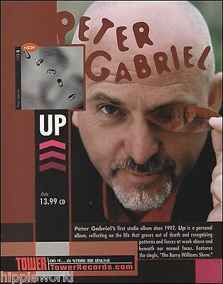 Peter Gabriel 2002 Up ad 8 x 11 advertisement print ready to frame
