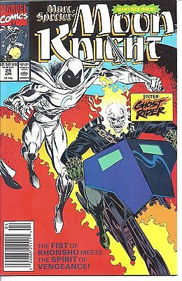 """Marc Spector: Moon Knight #25 (1991) NM  Mackie - Bagley  """"NEWSSTAND"""""""