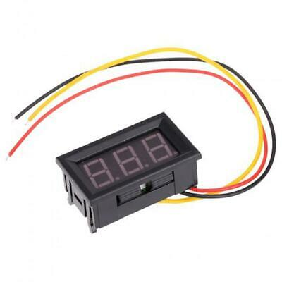 DC0-99.9V LED 3-Digital Display Voltage Voltmeter Volt Meter Panel Car Motor