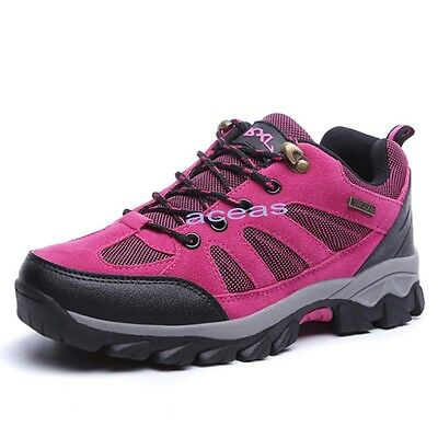 Outdoor Breathable Women's Climbing Walking Hiking Boots Mountaineering Shoes