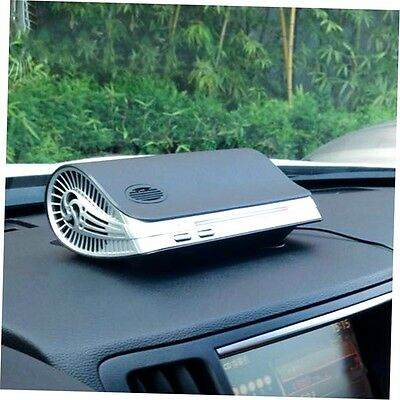 Classic Black Car Air Purifier Cleaner Ionic UV HEPA Ionizer Fresh Ozone zp