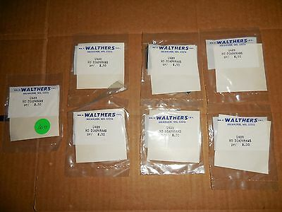Lot Of Walthers U429 Ho Diaphrams