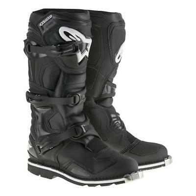 Alpinestars Tech 1 AT Motocross Stiefel - schwarz