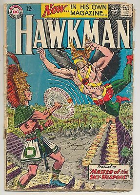 Hawkman #1 (1964) Fair (1.0) ~ Gardner Fox ~ DC Comics
