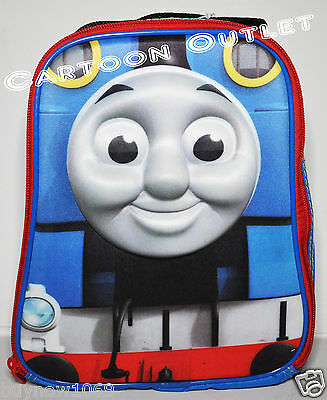 Thomas The Train Lunch Bag Box Tote Messenger Insulated 3D Pop Out Snack Bag