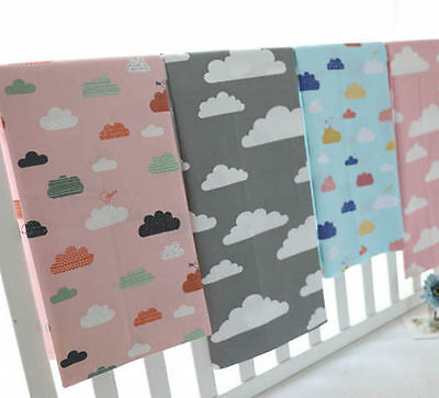 One PCS Cotton Fabric Pre-Cut Cotton cloth Fabric for Sewing Clouds D99