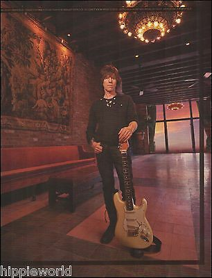 Jeff Beck Signature Fender Stratocaster Guitar 8 x 11 pin-up photo